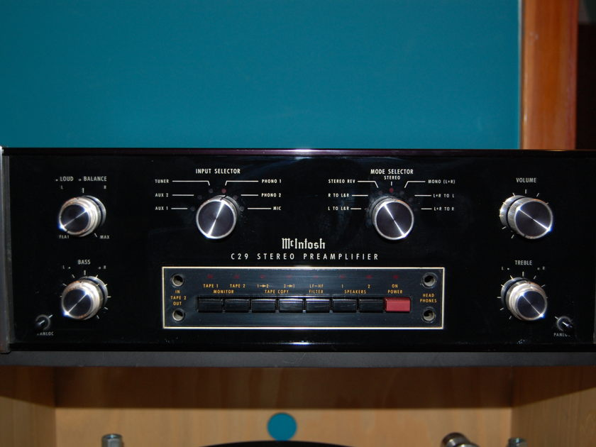 McIntosh C-29 Preamp with Case