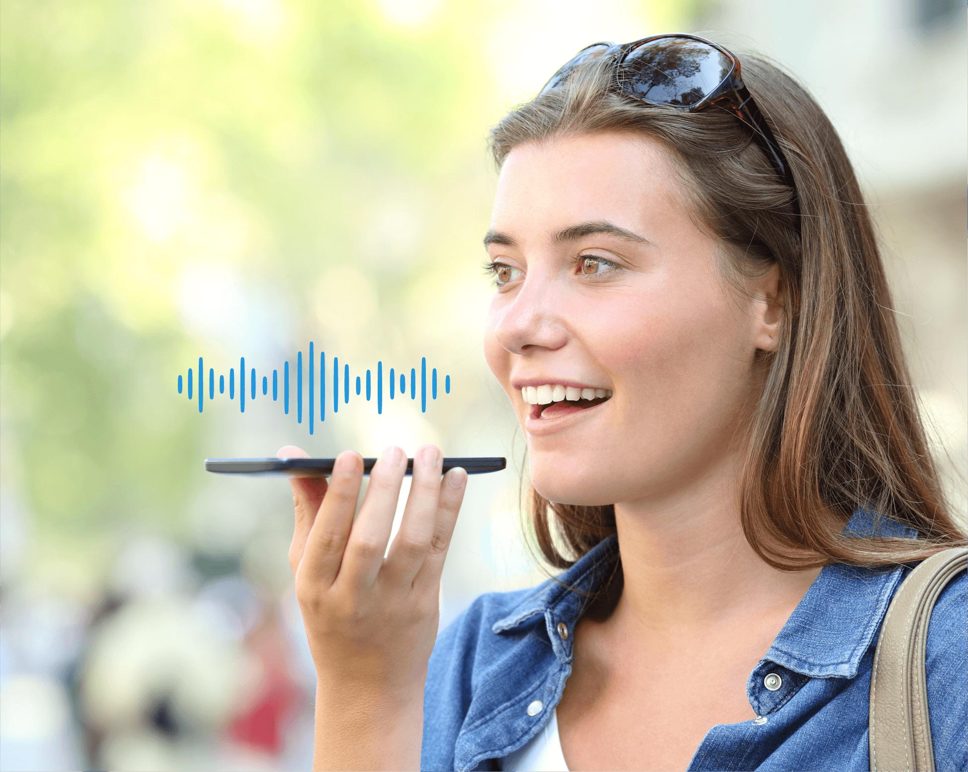Siri voice search