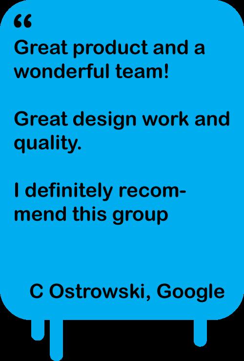 Testimonial -  C Ostrowski
