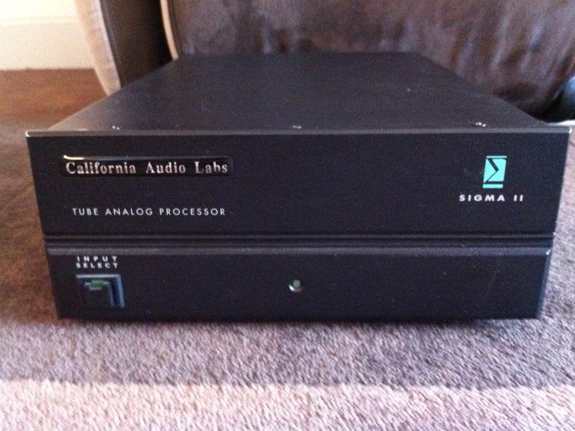 California Audio Labs Sigma II Tube Analog DAC D/A Converter
