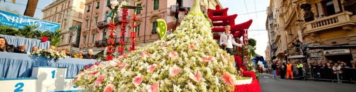 Фестиваль цветов в Сан-Ремо 16.03.2014 (на один день — из Милана)