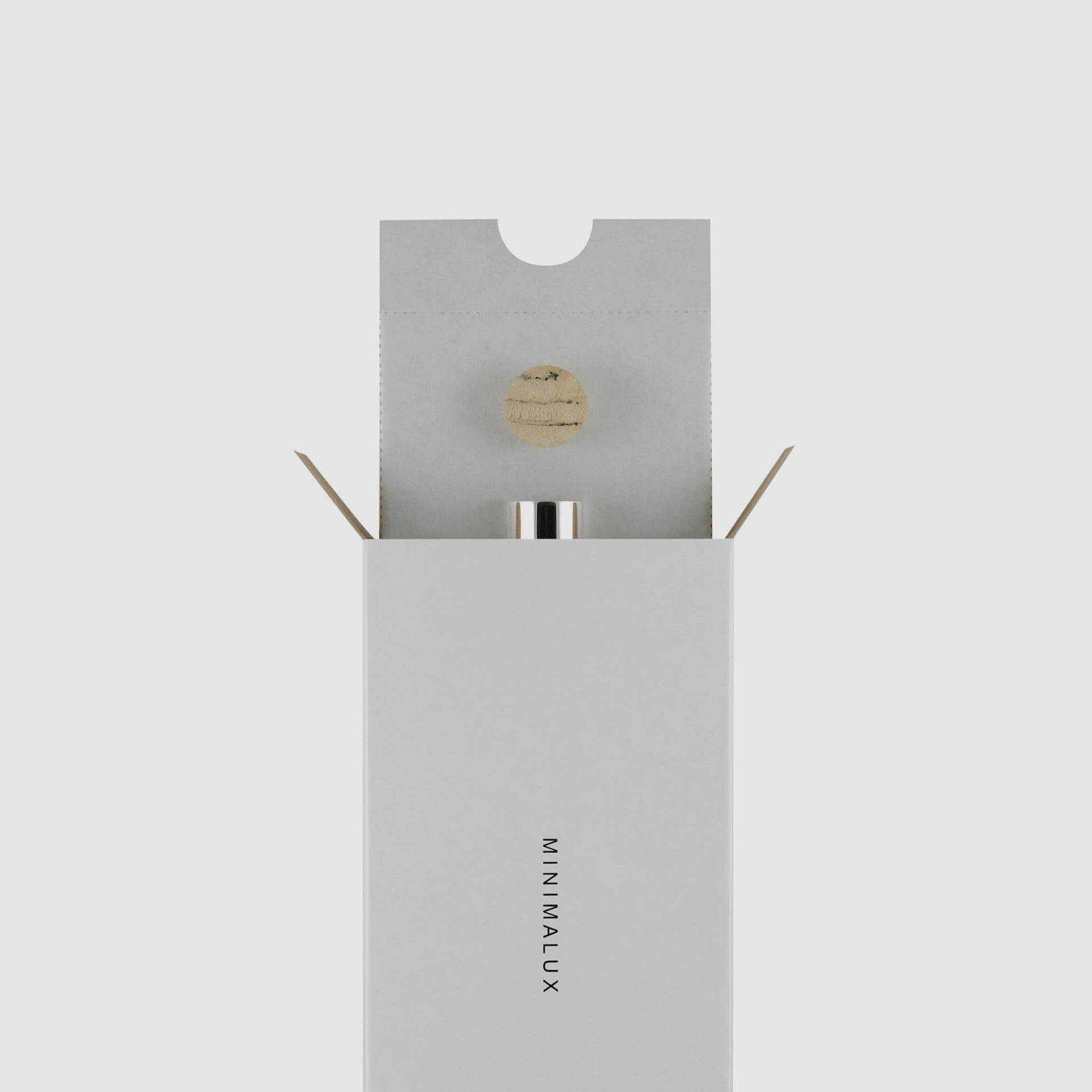 Silver Pill Tube packaging