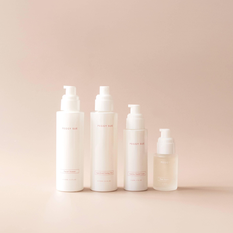 Product shot of the AM Skincare Bundle