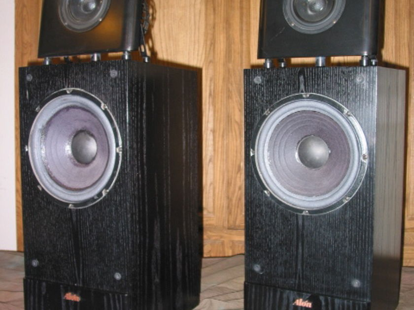 Acarian Systems Alon II Black Speakers