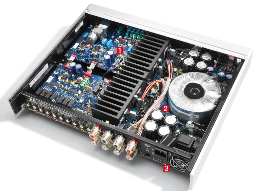 T+A Elektroakustik PA1260R Silver Finish T+A PA1260R Integrated Amplifier. Silver Finish.