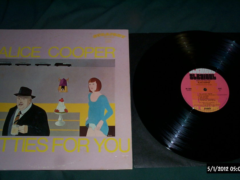 Alice Cooper - Pretties For You Vinyl LP rare straight label lp nm