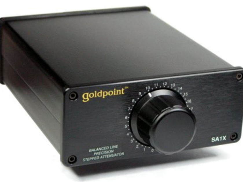 Goldpoint  The SA1X Precision Balanced Level Control  mint black fully differential class A rated
