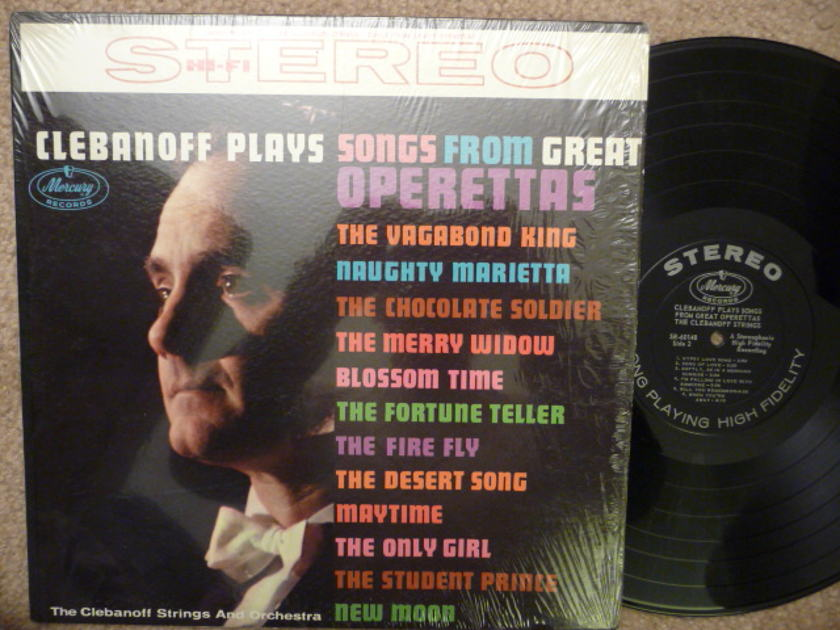 CLEBANOFF PLAYS GREAT SONGS FROM  - OPERETTAS Mercruy LP