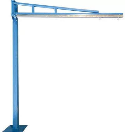 potence à outils, floor mounted jib crane, muscle mate