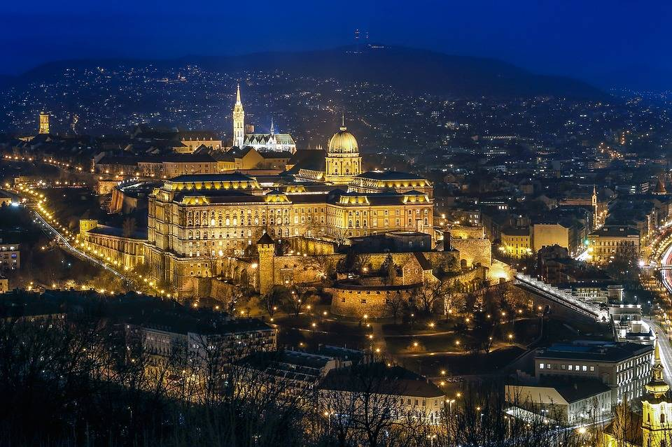 Budapest, rest and relax travel destination