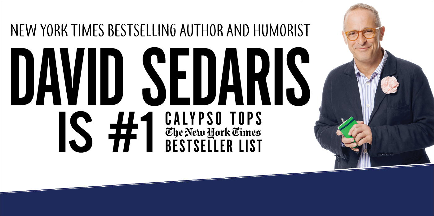 David Sedaris at the Shubert Theatre