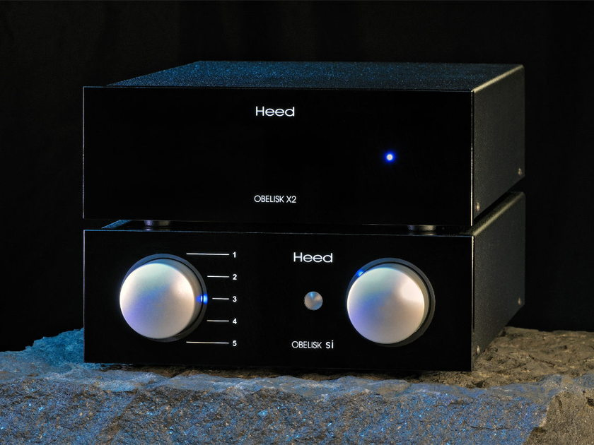 Heed Obelisk Si and X2 integrated power and DAC