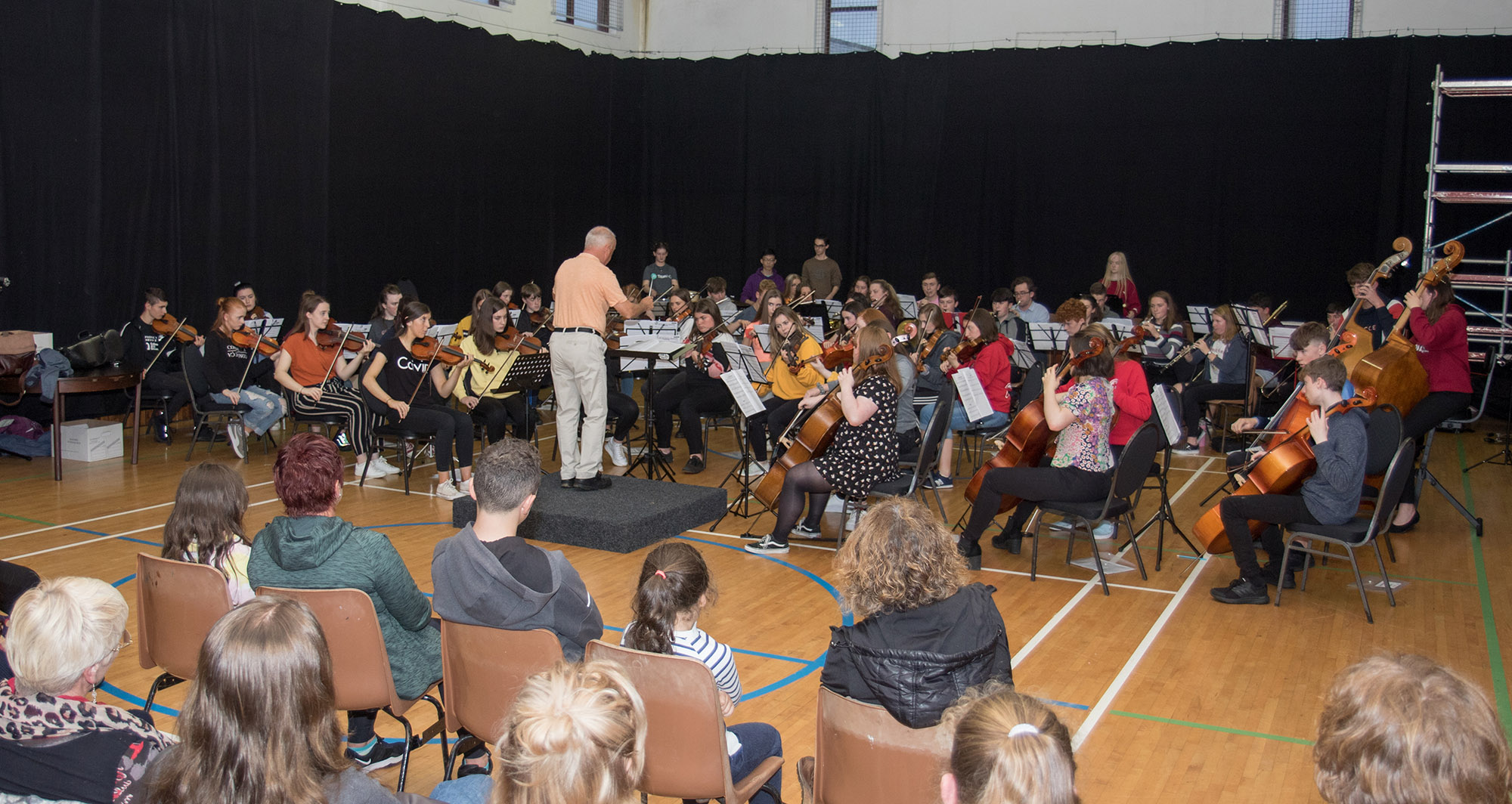 Symphonic Waves Clonbur Rehearsal - Conductor James Kavanagh