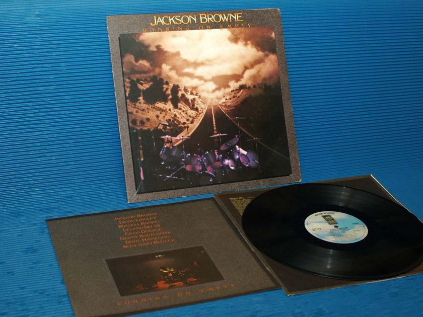 "JACKSON BROWNE -  - ""Running On Empty"" - Asylum 1977 w/poster"