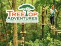 2 Tickets to TreeTop Adventures Zip-Line and Climbing Park