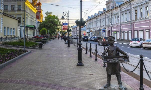 Индивидуальная экскурсия по двум главным улицам Нижнего Новгорода