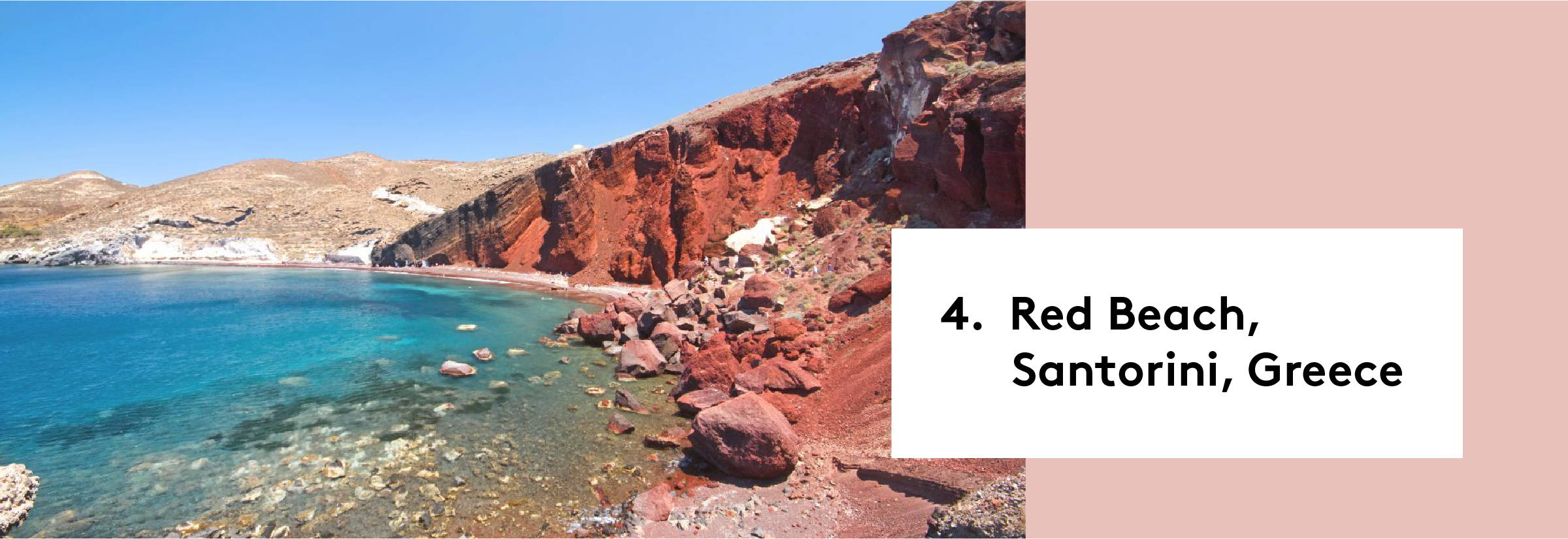 Red Beach, Santorini, Greece