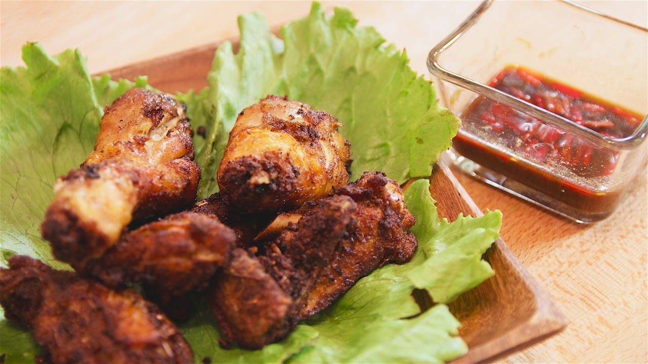 Fried Chicken with Nyonya Spices