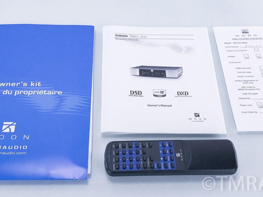 Simaudio  Moon Neo 280D MiND DSD DAC; D/A Converter; Network Player (2842)