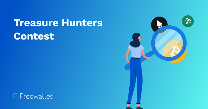 Treasure Hunters Contest by Freewallet