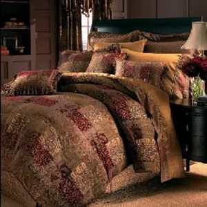 Croscill Galleria Red King Size Comforter Set