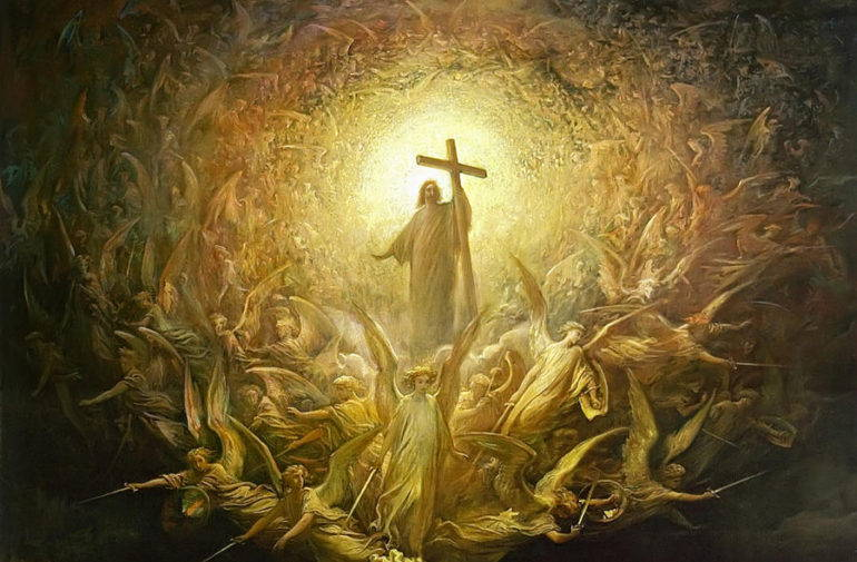 Christ the King, general of armies of angels