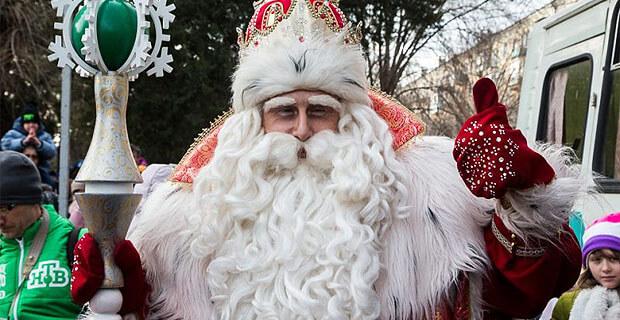 Большое ежегодное «Путешествие Деда Мороза с НТВ» проходит при поддержке «Авторадио» - Новости радио OnAir.ru