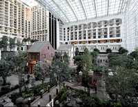 The Gaylord was like a city of advisors for three days.