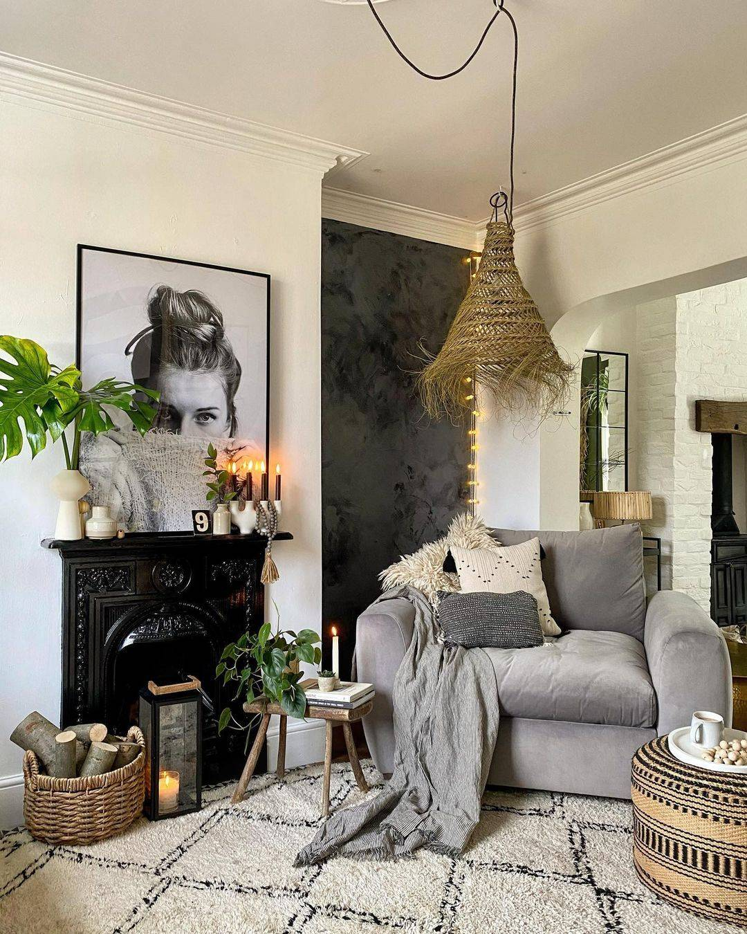 Grey sofa in a box by Snug