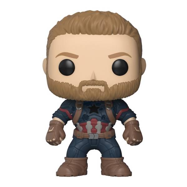 Avengers: Infinity War: Captain America Vinyl Bobble-Head By Funko  - India