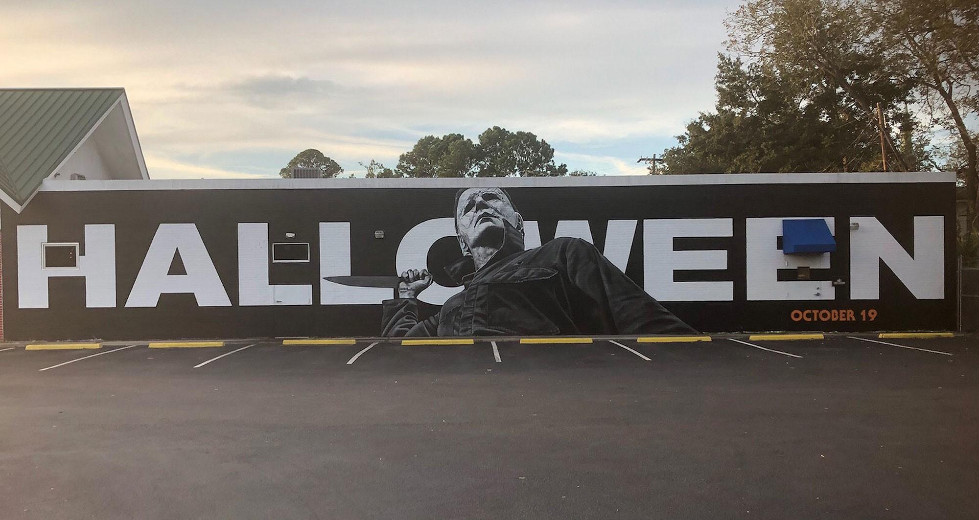 Halloween 2020 Filming In Charleston Massive 'Halloween' mural appears in Avondale ahead of