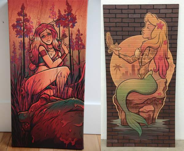 Art & Posters - Mermaid Print