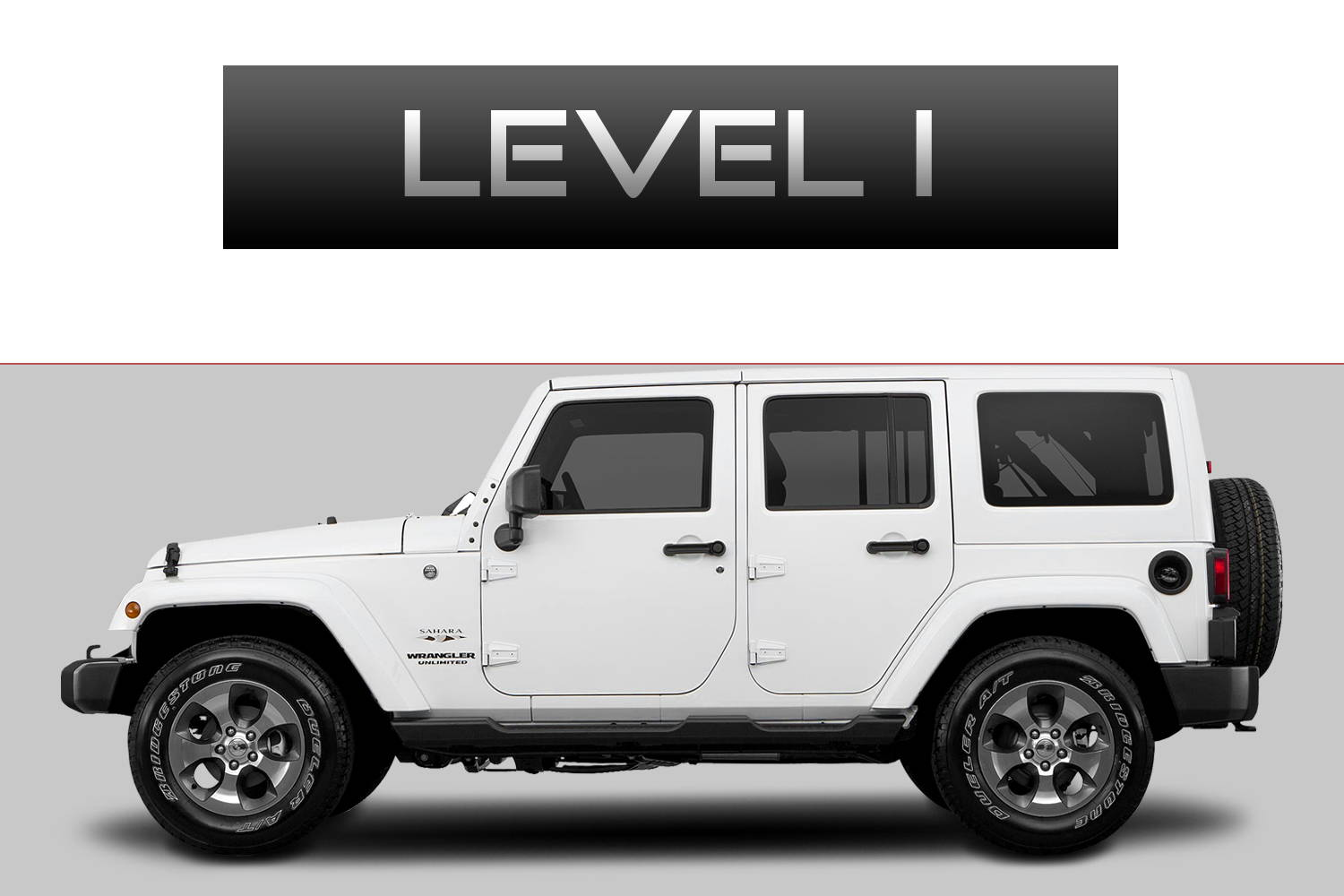 JEEP Wrangler JK Off-Road Customizing Package Level 1 by 3C Trucks
