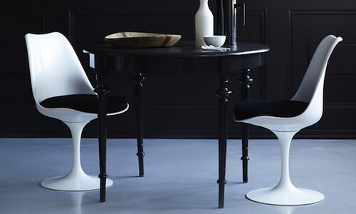 Modern Dining Tables and Chairs on Sale at 2Modern featuring Knoll Tulip Chairs