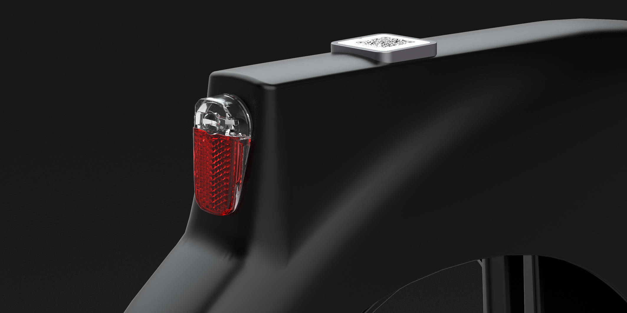 Okai Micromobility Manufacturer, EB100 Electric Bike Rear Light