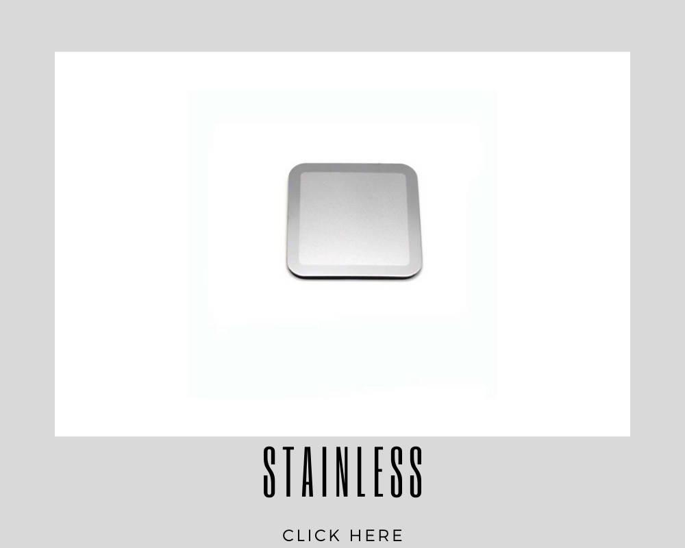 Custom Stainless Corporate Coasters