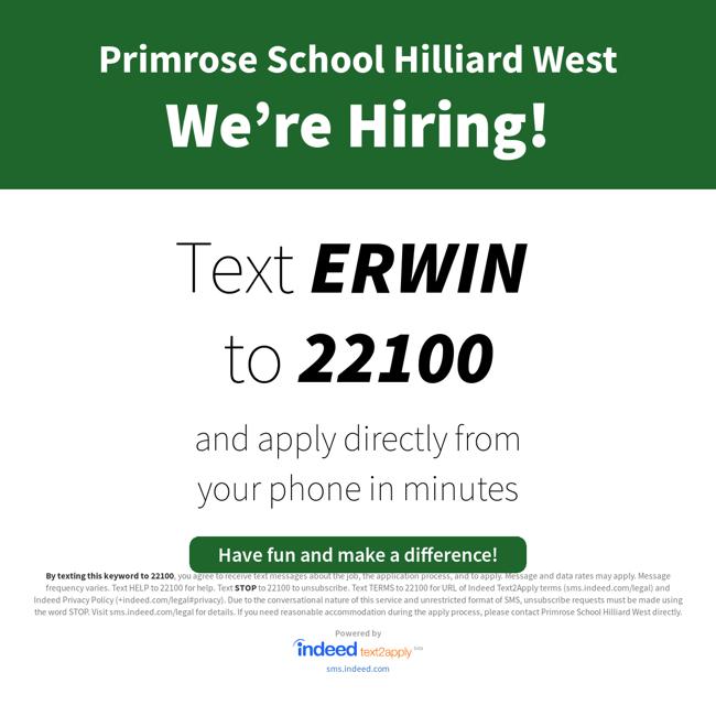 we're hiring social erwin