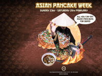 صورة ASIAN PANCAKE WEEK