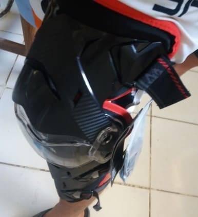 genouillere trottinette securite patinette electrique