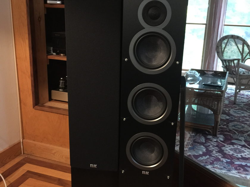 ELAC F5 Tower pair Outstanding speakers in as new condition