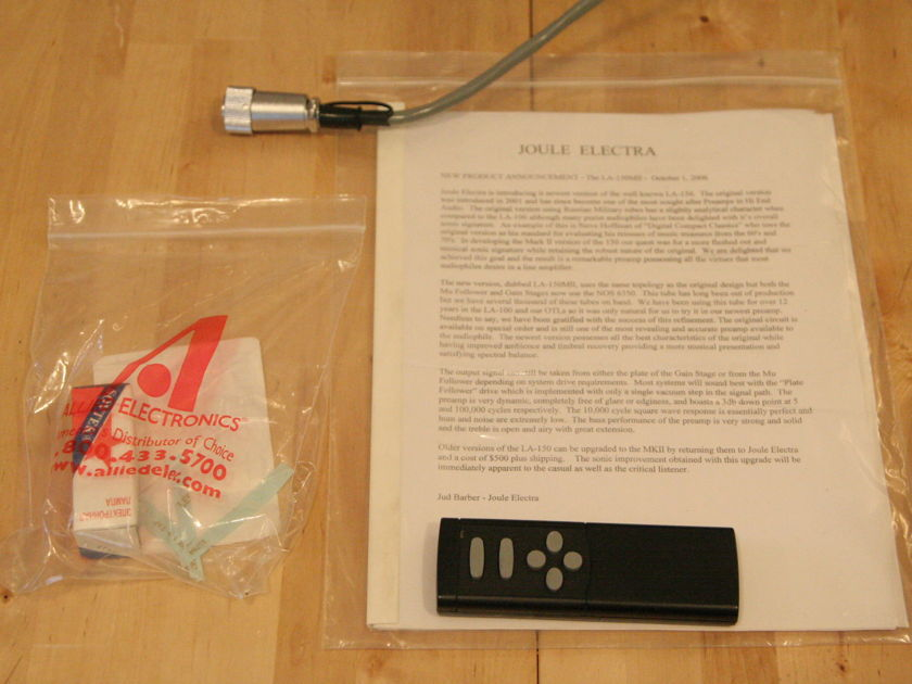 Joule Electra LAP-150 MKII w/ OPS MKIII Phono