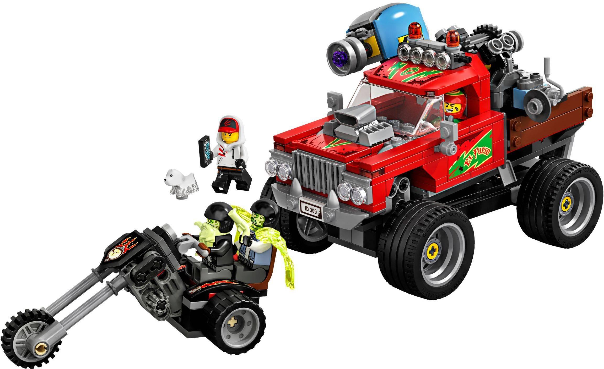 70421-1: El Fuego's Stunt Truck