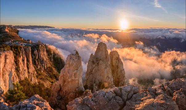 Вершины Ай-Петри + Ялта