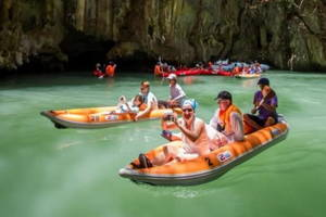 Phang Nga & Canoe & Koh Khai by Speedboat from Khao Lak