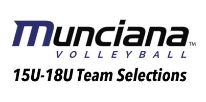 Image for Team Selections 15U-18U