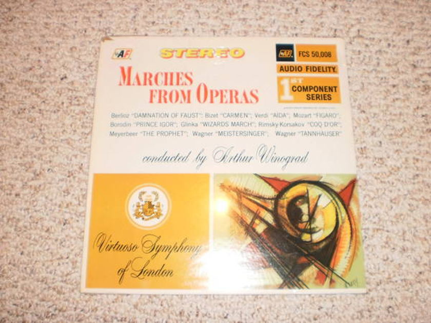 Audio Fidelity - (Sealed) marches from operas