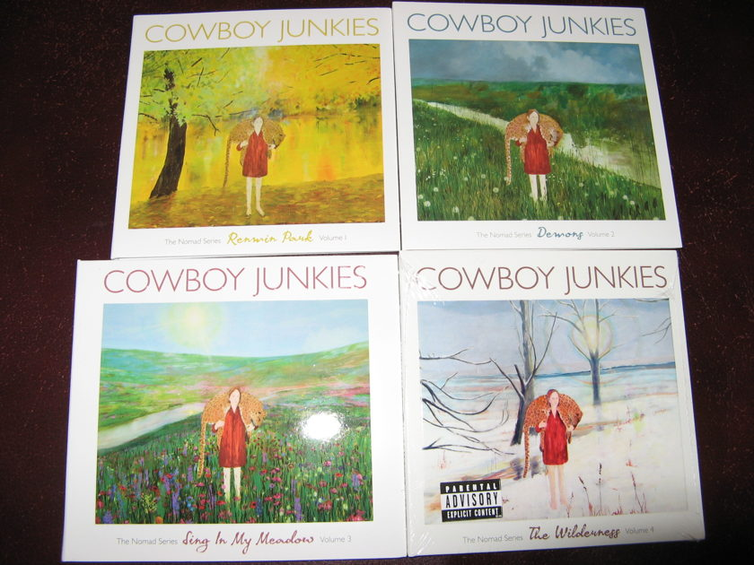 Cowboy Junkies - Nomad Collection 4)CDs 1 Sealed