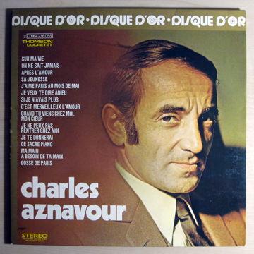 Le Disque D'or De Charles Aznavour