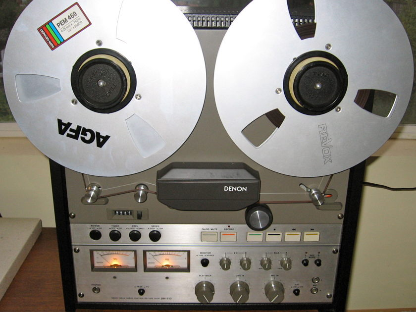 Denon DH-510 15 ips open reel recorder 2 track