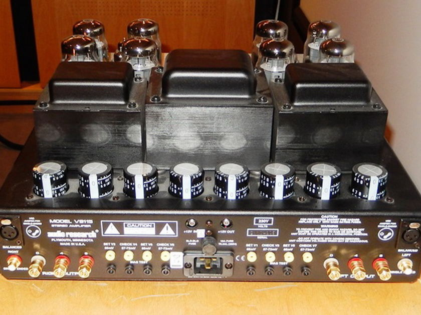 Audio Research VS 115 tube stereo power amp used reduced!